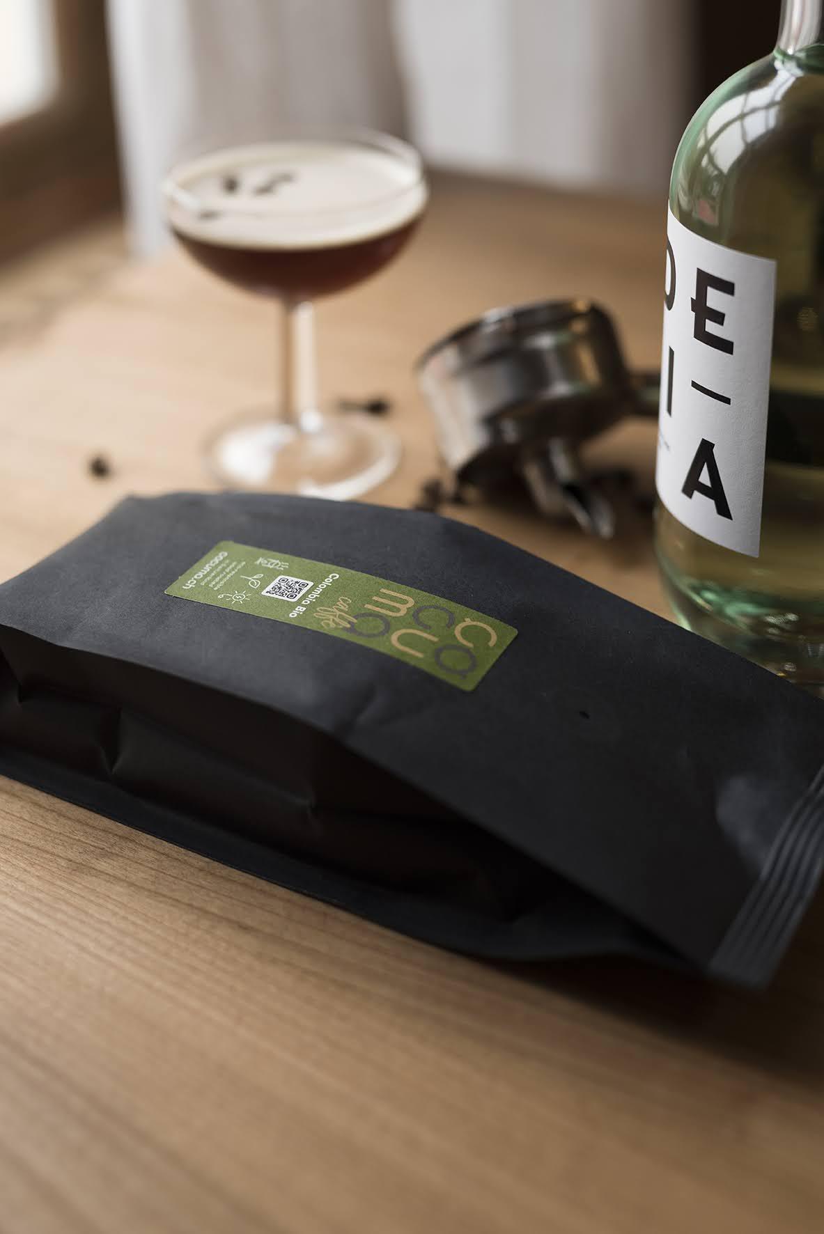 ocuma caffe Colombia Bio