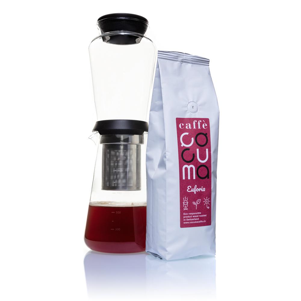 Slow Drip Brewer mit Euforia Kaffee