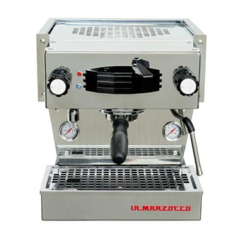 Eingruppige Siebträger Kaffeemaschine La Marzocco von vorne